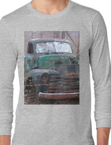 Retro Old Beast of a Truck Long Sleeve T-Shirt