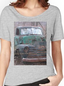 Retro Old Beast of a Truck Women's Relaxed Fit T-Shirt