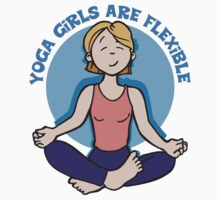 Funny Yogini Yoga T-Shirt by T-ShirtsGifts
