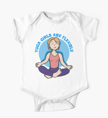 Funny Yogini Yoga T-Shirt One Piece - Short Sleeve