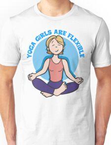 Funny Yogini Yoga T-Shirt Unisex T-Shirt