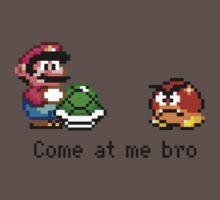 Come at me Bro (Mario) Baby Tee