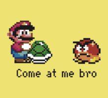 Come at me Bro (Mario) Kids Tee
