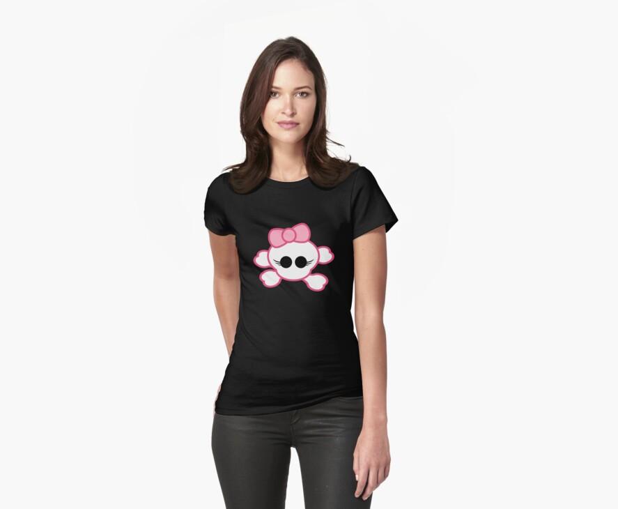 Girly Skull by timageco