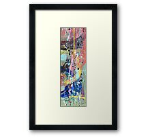 One tree river Framed Print