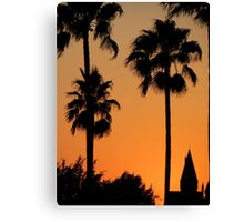 Kissed by the Setting Sun Canvas Print