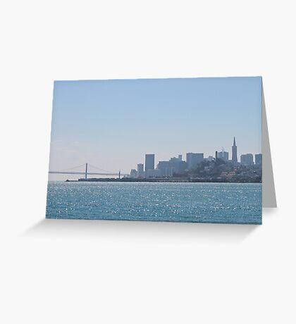 San Francisco, CA Skyline Greeting Card