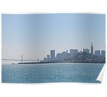 San Francisco, CA Skyline Poster