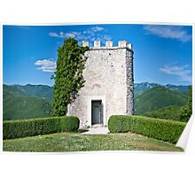 Labro Castle, Italy Poster