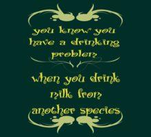 Drinking Problem by veganese
