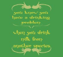 Drinking Problem Baby Tee