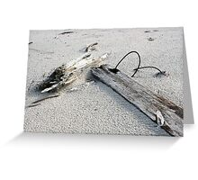Wire & Sand Greeting Card