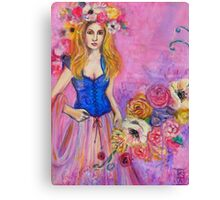 ROSEY SWAG FAE WOMAN Canvas Print