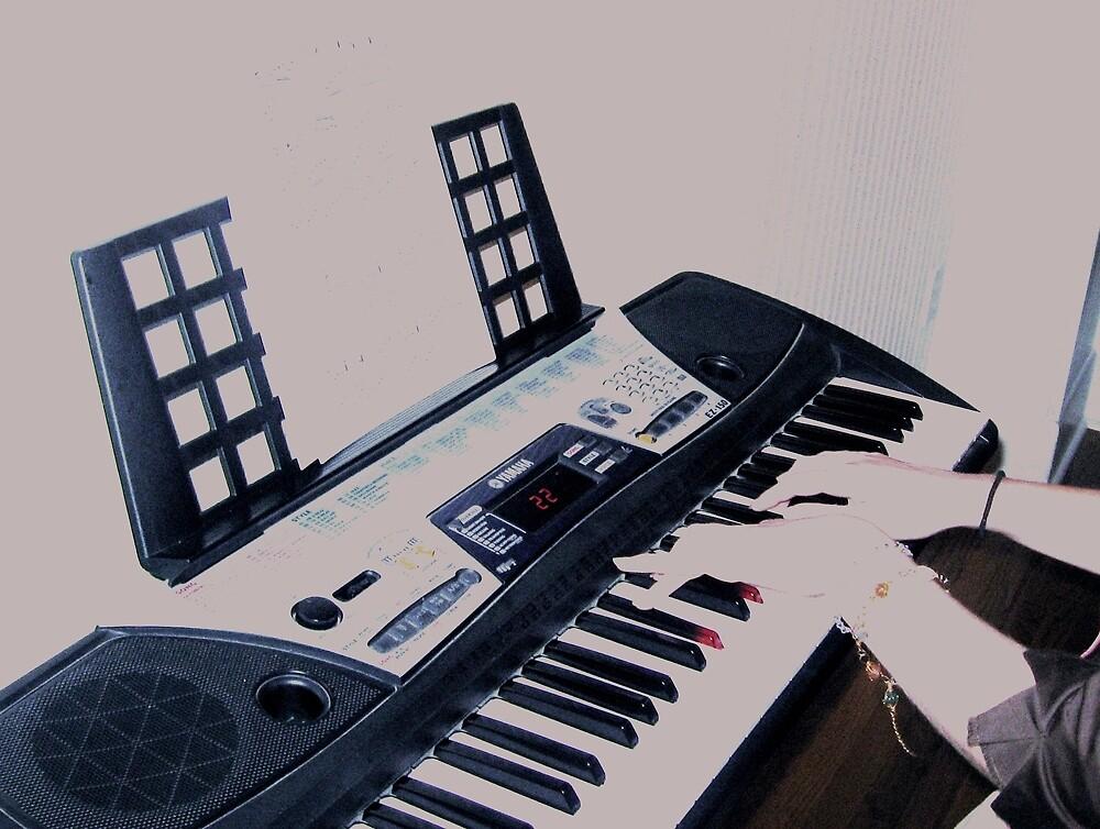 keyboard by Chelsea P
