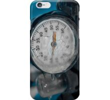 Icy Measurements iPhone Case/Skin