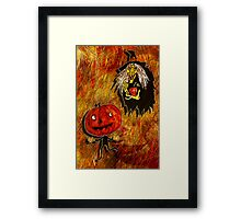 HALLOWEEN FRIGHTS 4 Framed Print