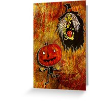 HALLOWEEN FRIGHTS 4 Greeting Card