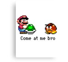 Come at me Goomba Canvas Print