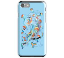 Rainbow Dash Montage (I-Pod) iPhone Case/Skin