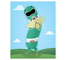 Green Ranger Photographic Print