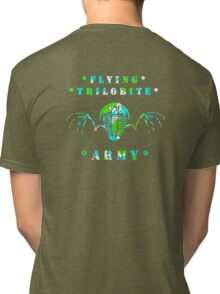 Flying Trilobite Army Tri-blend T-Shirt