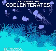 I Am Thankful For Coelenterates by PepomintNarwhal