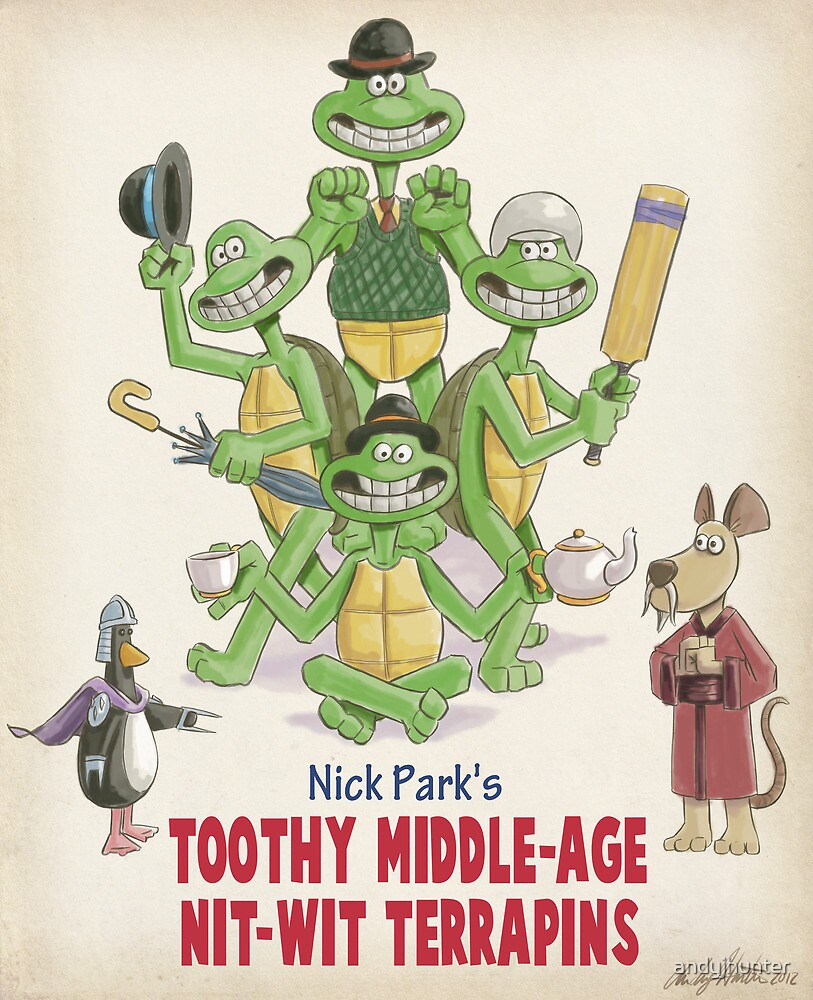 Nick Park's TMNT by andyjhunter