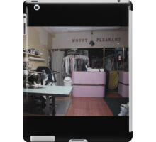 mt pleasant dry cleaners iPad Case/Skin