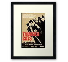 Quentin Tarantino directs Thunder Cats Framed Print