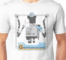 Gerty's Space Cuts Unisex T-Shirt
