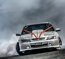 MNTLE8 Burnout by VORKAIMAGERY