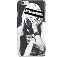 Miss Nothing iPhone Case/Skin