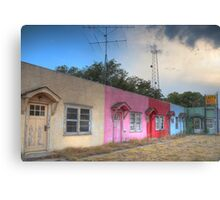Lazy U Motel Canvas Print