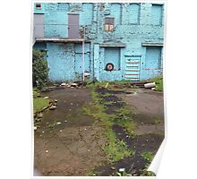 Empty Lot - New Westminster Poster