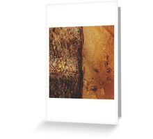 Salmon Oil on Parchment Greeting Card