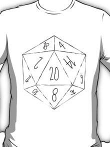 Messy D20 T-Shirt