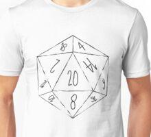 Messy D20 Unisex T-Shirt