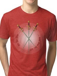 Musketeer Mantra Tri-blend T-Shirt