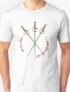 Musketeer Mantra Unisex T-Shirt