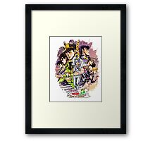 JoJo's Bizarre Adventure - Eyes of Heaven Framed Print