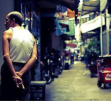 Old man, Saigon, Vietnam by bouche