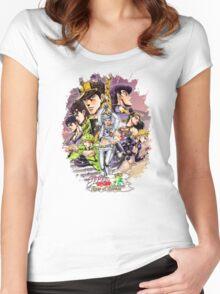 JoJo's Bizarre Adventure - Eyes of Heaven Women's Fitted Scoop T-Shirt