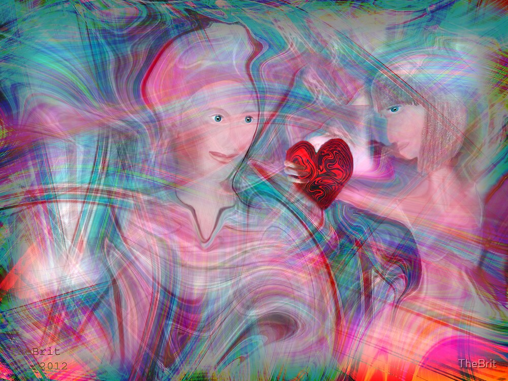 Love within an abstract by TheBrit