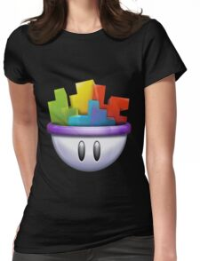 Gaming salad Womens Fitted T-Shirt