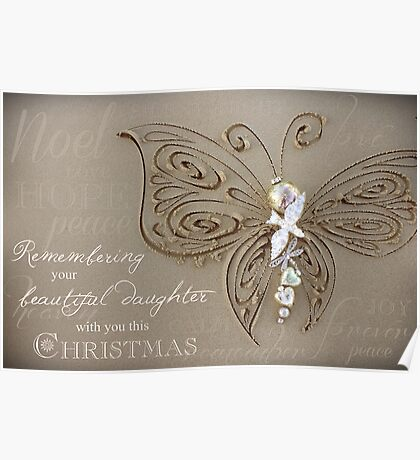 Remembering A Daughter - Christmas Poster