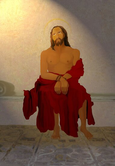 The disrobing of Jesus Christ'... by Valerie Anne Kelly