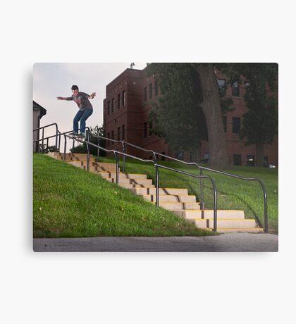 Josh Harmony 50-50, photo by Joe Hammeke Metal Print