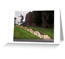 Josh Harmony 50-50, photo by Joe Hammeke Greeting Card