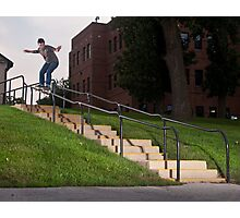 Josh Harmony 50-50, photo by Joe Hammeke Photographic Print