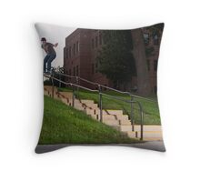 Josh Harmony 50-50, photo by Joe Hammeke Throw Pillow